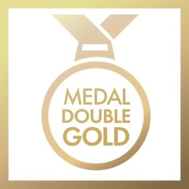 Medal Double Gold